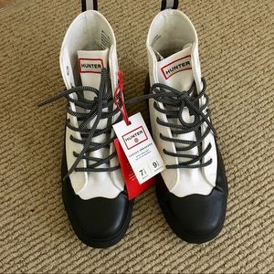 Hunter for Target Shoes - NWT Unisex Hunter Water Repellant Canvas Sneakers